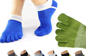 haveonelife*PX131五指运动跑步袜Five Finger Socks Breathable